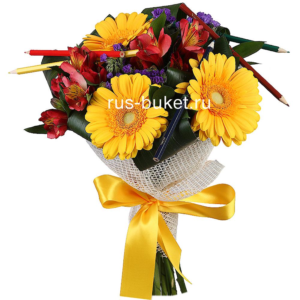 Букет к 1 сентября купить с доставкой по москве доставка цветов молдавия
