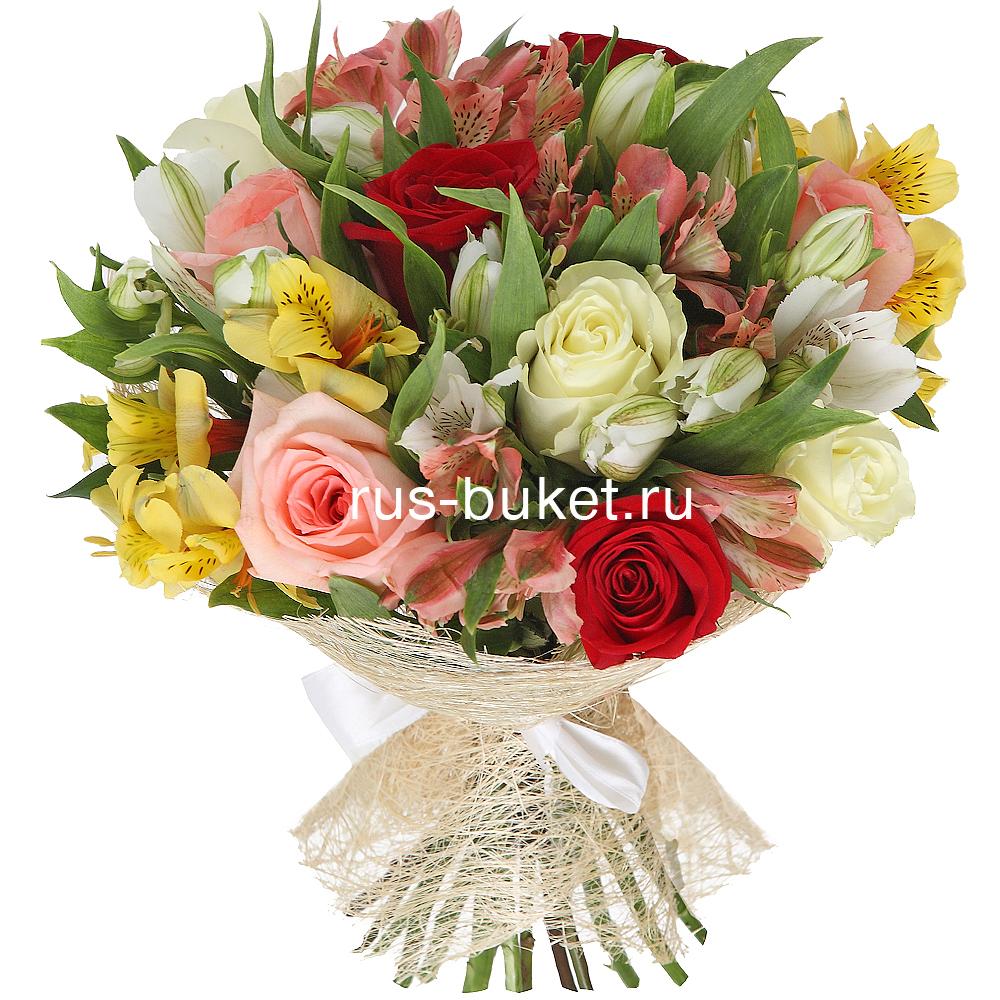 Заказ букетов цветов с доставкой в москве
