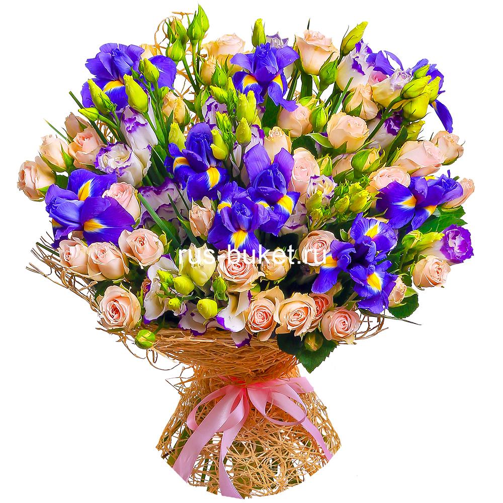 Цветы с доставкой.в москве