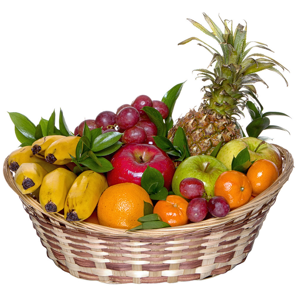 Buy A Gift Of Flowers Fresh Fruit Basket In Moscow Russia