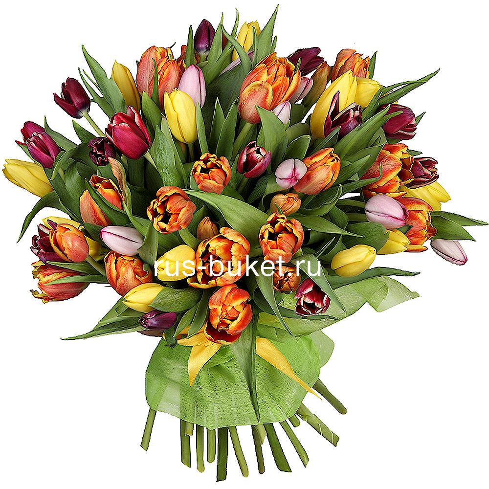 На 8 марта цветы купить