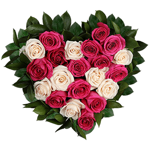 Цветы на 14 февраля - С днем влюбленных!
