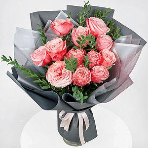 Бизнес-букет +30% цветов с доставкой в Москве