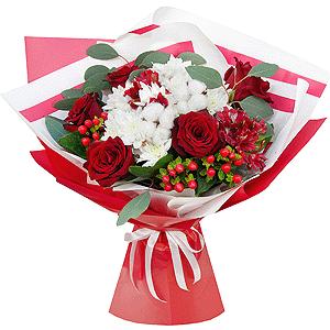 Восхищение +30% цветов с доставкой в Москве