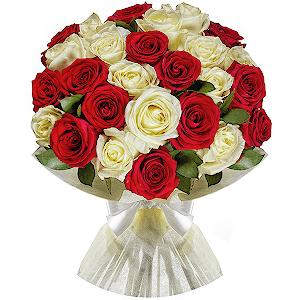 Купить букет цветов сдоставкой в москве оригинальный подарок мужчине на 14 февраля фото