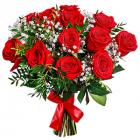 "Букет ""Алые розы"""
