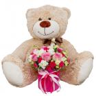 Композиция «Мисс очарование» с медвежонком