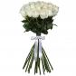 Роза белая 70см - 21, Лента